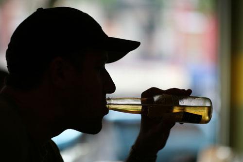 alcoholic teen